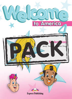 Welcome to America: Pupil's Pack with Dvd Pal (international) Level 4