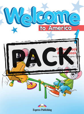 Welcome to America: Student's Book & Workbook with DVD NTSC (US) Level 1
