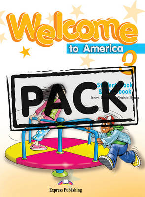 Welcome to America: Student's Book & Workbook with DVD NTSC (US)