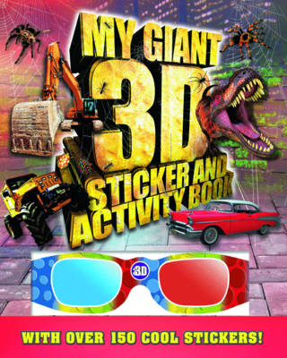 Giant 3D Sticker and Activity Book - Giant Sticker and Activity (Paperback)