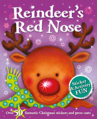 Christmas Fun: Reindeer's Christmas - Sticker and Activity (Paperback)