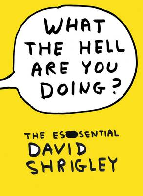What the Hell are You Doing?: the Essential David Shrigley (Hardback)