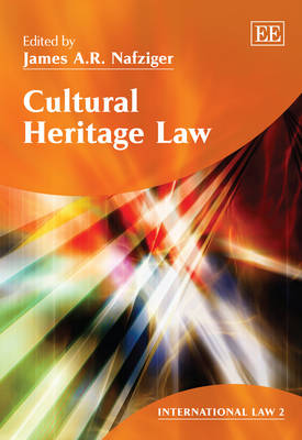 Cultural Heritage Law - International Law Series 2 (Hardback)