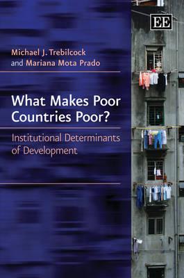 What Makes Poor Countries Poor?: Institutional Determinants of Development (Hardback)