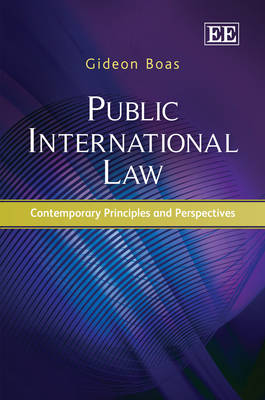 Public International Law: Contemporary Principles and Perspectives (Hardback)