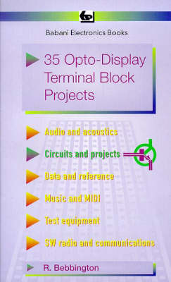 35 Opto-display Terminal Block Projects - BP S. 410 (Paperback)