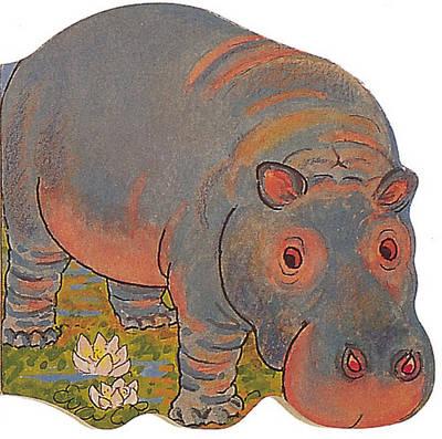 Pocket Hippo - Pocket Pals (Board book)