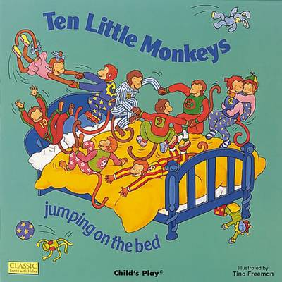 Ten Little Monkeys Jumping on the Bed - Classic Books with Holes Board Book (Big book)