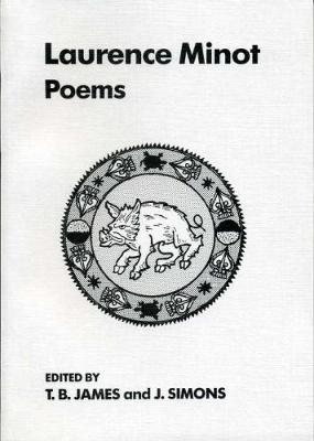 The Poems of Lawrence Minot - Exeter Medieval Texts and Studies (Paperback)