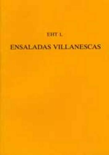 'Ensaladas Villanescas' From The 'Romancero Nuevo' - Exeter Hispanic Texts (Paperback)