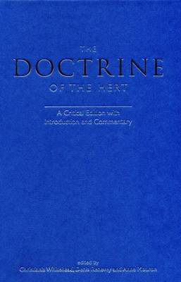 The Doctrine of the Hert: A Critical Edition with Introduction and Commentary - Exeter Medieval Texts and Studies (Hardback)