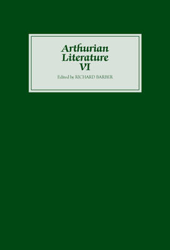 Arthurian Literature VI - Arthurian Literature (Hardback)
