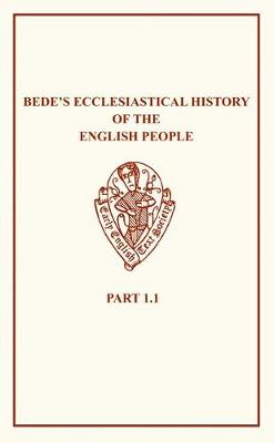 Bede's Ecclesiastical History of the English People I.i - Early English Text Society Original Series (Paperback)