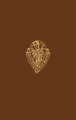 Prose Life of Alexander - Early English Text Society Original Series (Hardback)