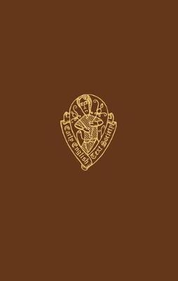 Mandeville's Travels I - Early English Text Society Original Series (Hardback)