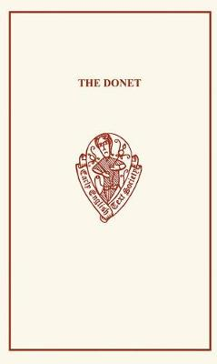 Donet by Reginald Peacock - Early English Text Society Original Series (Paperback)