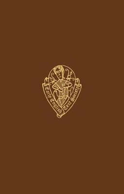 Henry Lovelich's Merlin I - Early English Text Society Extra Series (Hardback)