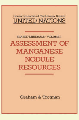 Assessment of Manganese Nodule Resources - Seabed Minerals 1 (Hardback)