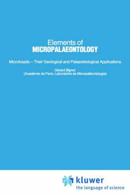 Elements of Micropalaeontology (Hardback)