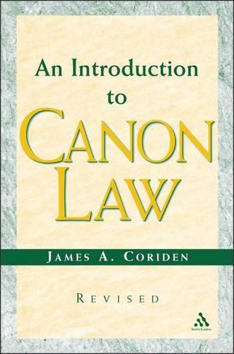 An Introduction to Canon Law (Paperback)