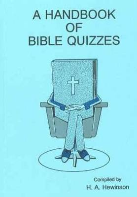 A Handbook of Quizzes (Paperback)
