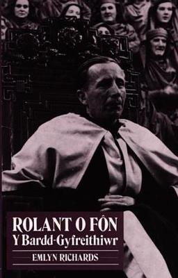 Rolant o Fon y Bardd-Gyfreithiwr (Paperback)