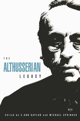 The Althusserian Legacy (Paperback)