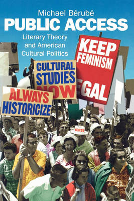 Public Access: Literary Theory and American Cultural Politics (Paperback)