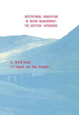 Institutional Innovation in Water Management: The Scottish Experience (Paperback)