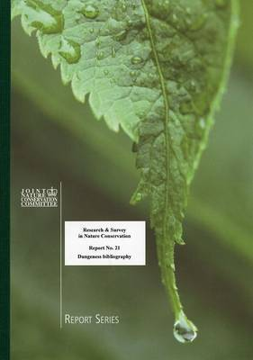 Dungeness Bibliography - Research and Survey in Nature Conservation Series 21 (Spiral bound)