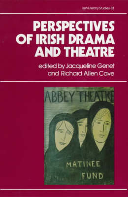 Perspectives on Irish Drama and Theatre - Irish Literary Studies 33 (Hardback)
