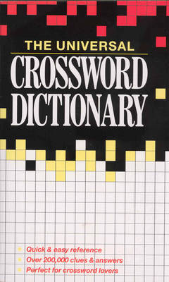 The Universal Crossword Dictionary (Paperback)