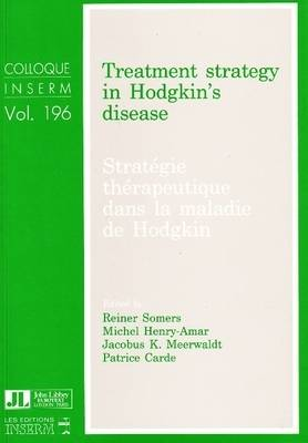 Treatment Strategy in Hodgkin's Disease (Paperback)