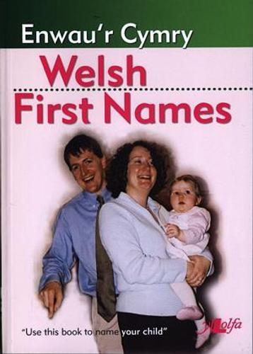 Enwau'r Cymry / Welsh First Names (Paperback)