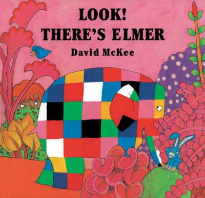 Look! There's Elmer (Hardback)