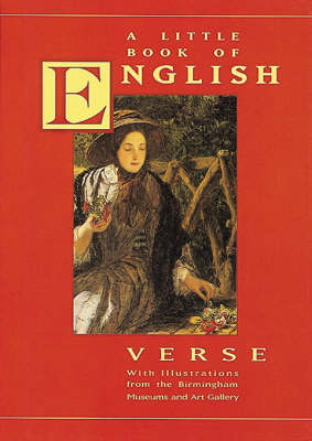 A Little Book of English Verse - Poetry with pictures (Hardback)