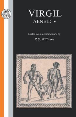 Aeneid: Bk. 5 - Latin Texts (Paperback)