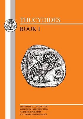 Thucydides: Bk.1 - BCP Greek Texts (Paperback)