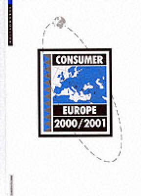 Consumer Europe 2000/2001 (Hardback)
