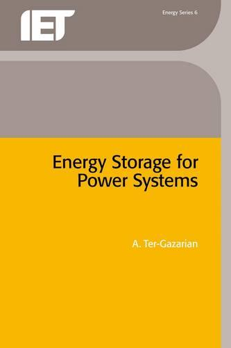 Energy Storage for Power Systems - Energy Engineering (Hardback)