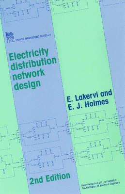 Electricity Distribution Network Design - Energy Engineering (Hardback)