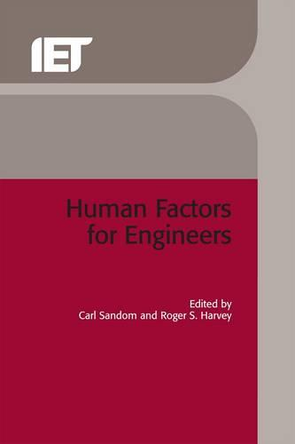Human Factors for Engineers - Control, Robotics and Sensors (Hardback)