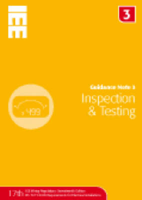 Guidance Note 3: Inspection and Testing (Paperback)