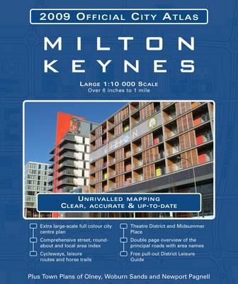 Milton Keynes City Atlas (Paperback)