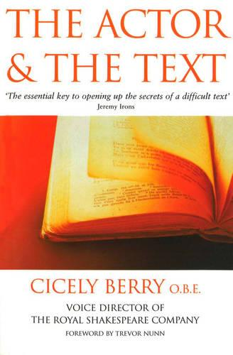 The Actor And The Text (Paperback)