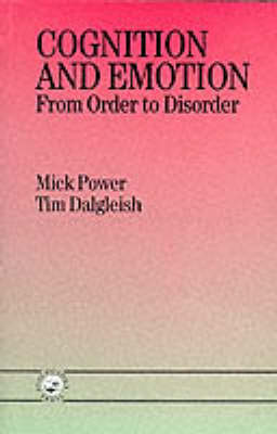 Cognition and Emotion: From Order to Disorder (Paperback)