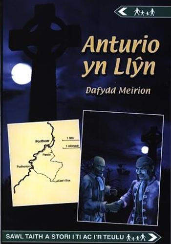 Cyfres Anturio: Anturio yn Llyn (Paperback)
