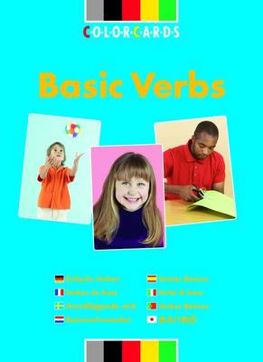 Basic Verbs: Colorcards: In Simple Settings - Colorcards