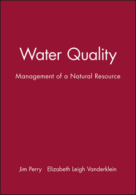 Water Quality: Management of a Natural Resource (Paperback)