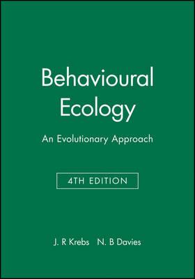Behavioural Ecology: An Evolutionary Approach (Paperback)